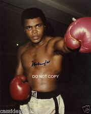 "Muhammad Ali legend Reprint Signed 11x14"" Poster #6 Heavyweight Boxing Champion"