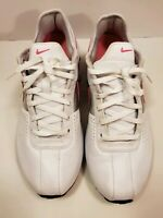 Nike Women's Shox 317549-160 White/Pink /Silver Running/Athletic Shoes Size 8.5