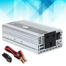 1500W Car Van Inverter Power DC 12V to AC 220V Sine Wave 2-USB Converter UK