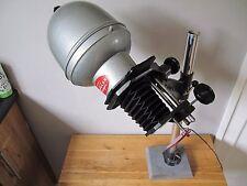 Vintage Photax 35mm Popular Enlarger / Cool Retro Spot Lamp - Slate Base Stand