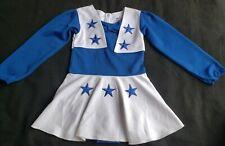 Dallas Cowboys Girl's 4T L/S Cheerleaders Bodysuit Polyester Uniform
