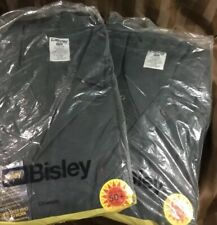 (Pack of 2 ) Bisley Full Work Overalls Bottle Green Size 132s RRP$65 Each