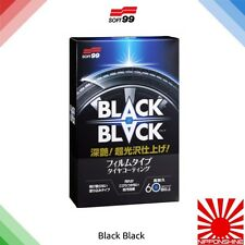 Soft99 Black Black tyre dressing fast delivery NO IMPORT DUTY EU JDM