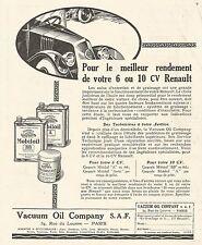 W7467 Gargoyle MOBILOIL - Illustrazione - Pubblicità del 1926 - Old advertising
