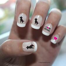 Pretty Pitties Nail Art - Hot Pink - (DPNA001)- Free Shipping