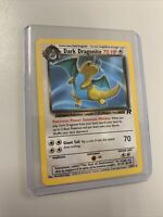 Dark Dragonite 22/82 Team Rocket Non-Holo Pokemon Card Original