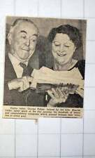 1949 George Robey With Wife Blanche Littler Open Hundreds Of Fan Mail 80th B'day