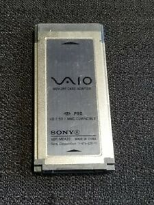 Sony VAIO VGP-MCA20 Memory card adapter