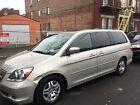 2005 Honda Odyssey EXL 2005 Honda Odyssey Van Grey FWD Automatic EXL