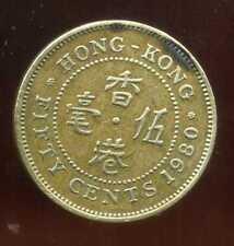 HONG KONG  50 cents 1980  ( bis )