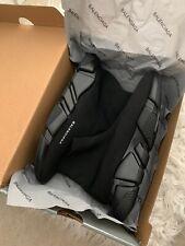 BALENCIAGA velocità Sock corridori tutto nero taglia UK 5