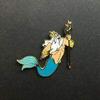 DLR - GWP Little Mermaid Map Pin - King Triton Disney Pin 32287