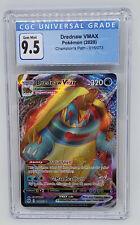 Pokemon Champions Path Drednaw VMAX 015/073 CGC 9.5 GEM MINT like PSA 10