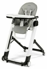 Peg Perego Siesta Follow Me High Chair for Baby - Ice