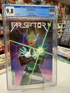 FAR SECTOR #1 McKelvie Variant (DC Comics, 2020) CGC Graded 9.8 ~ White Pages