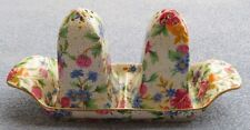 Royal Winton Old Cottage Chintz Salt and Pepper Shaker with Tray