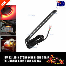 Flexi Waterproof Rear Tail Box LED Light Bar Strip For Universal Motorcycle Bike