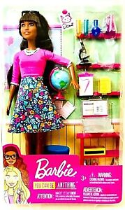 Mattel Barbie You Can Be Anything Teacher With Classroom Accessories Age 3 & Up