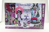New Welcome To Monster High Dance The Fright Away Playset With Draculaura Doll