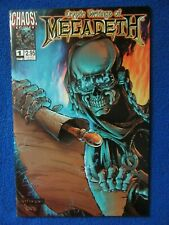 ~~ CRYPTIC WRITINGS OF MEGADETH #1 ~ CHAOS COMICS ~ 1997 ~~
