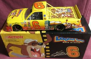 KEVIN HARVICK, 1/24 ACTION 2003 RACE TRUCK, #6, LOONEY TUNES--TAZ
