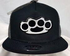 OTTO 3030Pro Snap Brass Knuckles Hardcore Mesh Cap Baseball Style Hat 4003