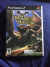 just cover sleeve Authentic To PS2 Monster Hunter 2004 PLAYSTATION 2 No Box 👍🙂