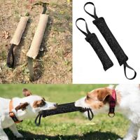 Handles Young Dog Bite Tug Play Toys Pet Training Chewing Arm Sleeve 20/30cm AU