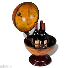 Globe Bar Armadietto per bevande TAVOLA GIREVOLE Top Wine Storage Mini Bar Drink Storage