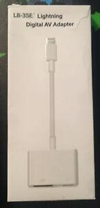HDMI/ iPhone Lightning Digital AV Adapter