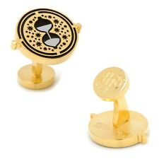 Harry Potter CUFFLINKS Hermiones Time Turner w/Gift Box