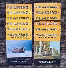 VERY RARE 1970 VINTAGE FULL SET of 12: Traction & Models Railroading Magazine