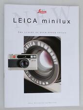 LEICA MINILUX BOOKLET