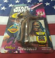 New 1994 Justoys Star Wars Bend-ems Chewbacca Bendable Figure Sealed