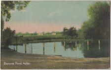 Barons Pond Acton, London Postcard B815