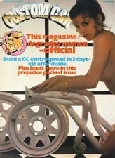 CUSTOM CAR JUNE 1982-BLOWN 37 FORD-ICE LADY MINI CLUBMAN-40 FORD PICK UP V8 MAG