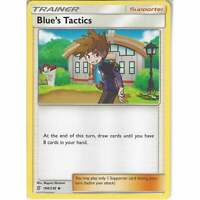 188/236 Blue's Tactics | Uncommon Trainer Card | Pokemon SM11 Unified Minds TCG