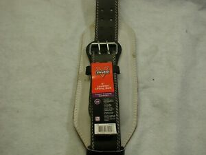"""Valeo 6"""" Black Competition Classic Weight Lifting Gym Fitness Belt Size Large"""