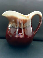 Vintage McCoy 365 Brown Drip Pottery Pitcher Made in The USA
