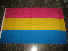 3x5 Pansexual Flag Gay Lesbian GLBT Omnisexual Flag Poly House Banner