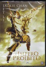 Dvd **L'IMPERO PROIBITO** con Jackie Chan Jet Li nuovo 2009