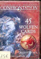 RACKHAM  CONFRONTATION PACK DE 45 CARTES WOLFEN
