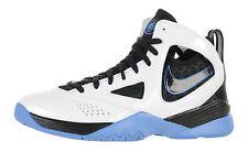 2010 Nike Huarache 2K5 White Black University Blue Men's Basketball Shoes Size13