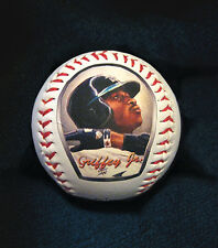 Ken Griffey Jr. Baseball with Art Print of Original Art Work