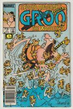 F298 Groo The Wanderer 17 Marvel Epic 1986 Comic Book Sergio Aragone
