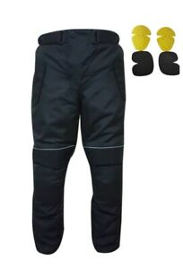 Motorbike Motorcycle Cardura Waterproof Trousers Textile Pant with CE Armours