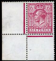 SG385 SPEC N26(3), 6d reddish purple, NH MINT. Cat £30. CORNER MARGINAL.