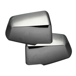 2009-2017 Chevrolet Traverse GMC Acadia Chrome Mirror Covers Inserts NEW Pair