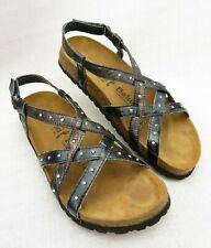 Birkenstock Betula Rhinestone Gladiator Cross Strap Sandals EUR 41 US 10 Narrow