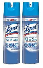 2-PACK 19 OZ di$infectaaant $pray Spring Waterfall Scent- Kills 99.9% of BAC